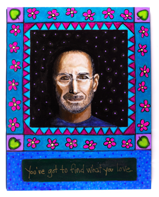 Steve Jobs ~ Art & print C Kanta Bosniak