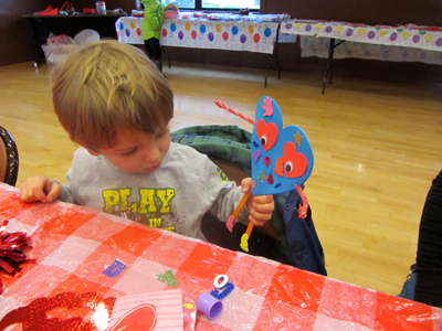 Heart Notes PlayShop: Creating Hearts At Play!