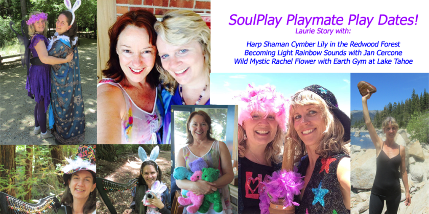 My June play date playmates for SoulPlay Camp ~ airs 8/9-8/29!