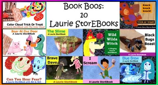 Book Boos: 10 Fun, Frolicking Laurie StorEBooks!