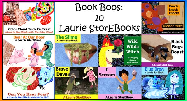 Book Boos: 10 Fun, Frolicking Laurie StorEBooks!