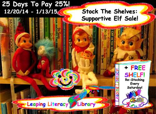 Join us at Leaping Literacy Library! Become a Free Library Card Member or a wee fee Marvelous Member for a 2015 full of inspirational DeLIGHTs!
