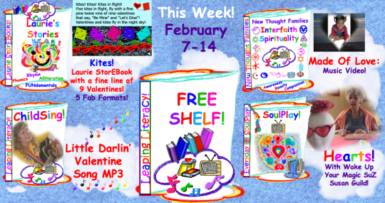 This week's Leaping Literacy Library's fab Free Shelf!