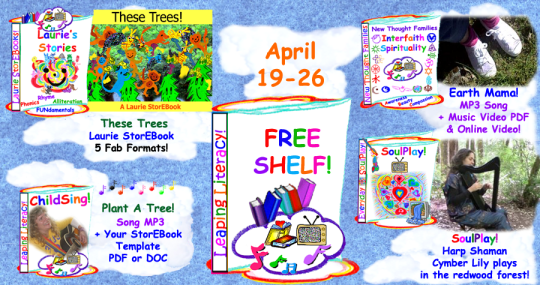 Lots of Tree Celebrations on the Free Shelf this week!