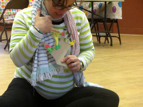 Our May PlayShop celebrated motherhood connections, reflections and creativity in our hands!