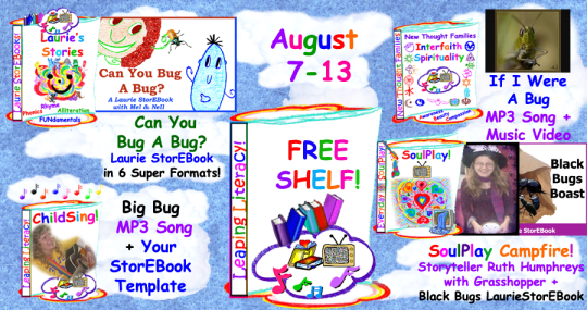 Anything bugging you?! Visit our Free Shelf this week for so much fun with BUGS!