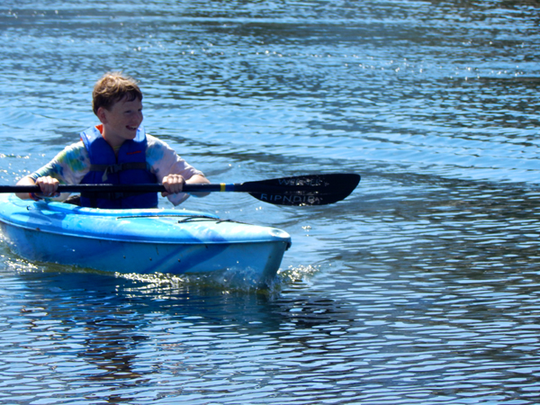 Paddling is SO freeing & fun!