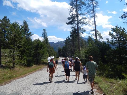 In sacred Sierra beauty, we go!