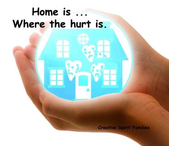 Hurting Home ~ Creative Spirit Families